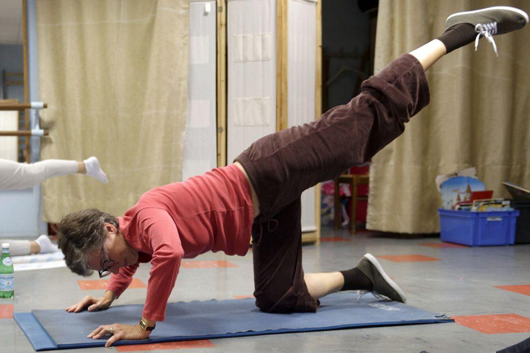 Exercices variés et différents d'une séance à l'autre