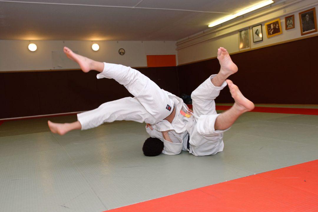 Combat de Judo