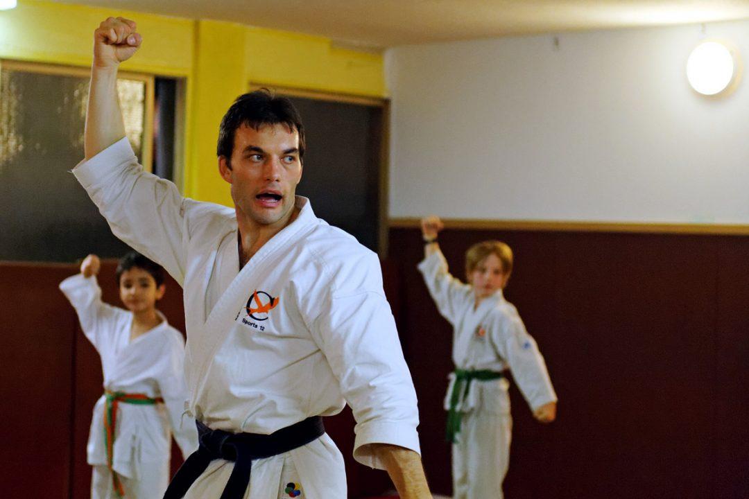 Clément, professeur de Karaté