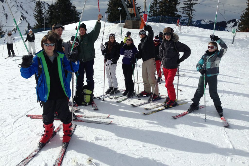 Camp ski ado