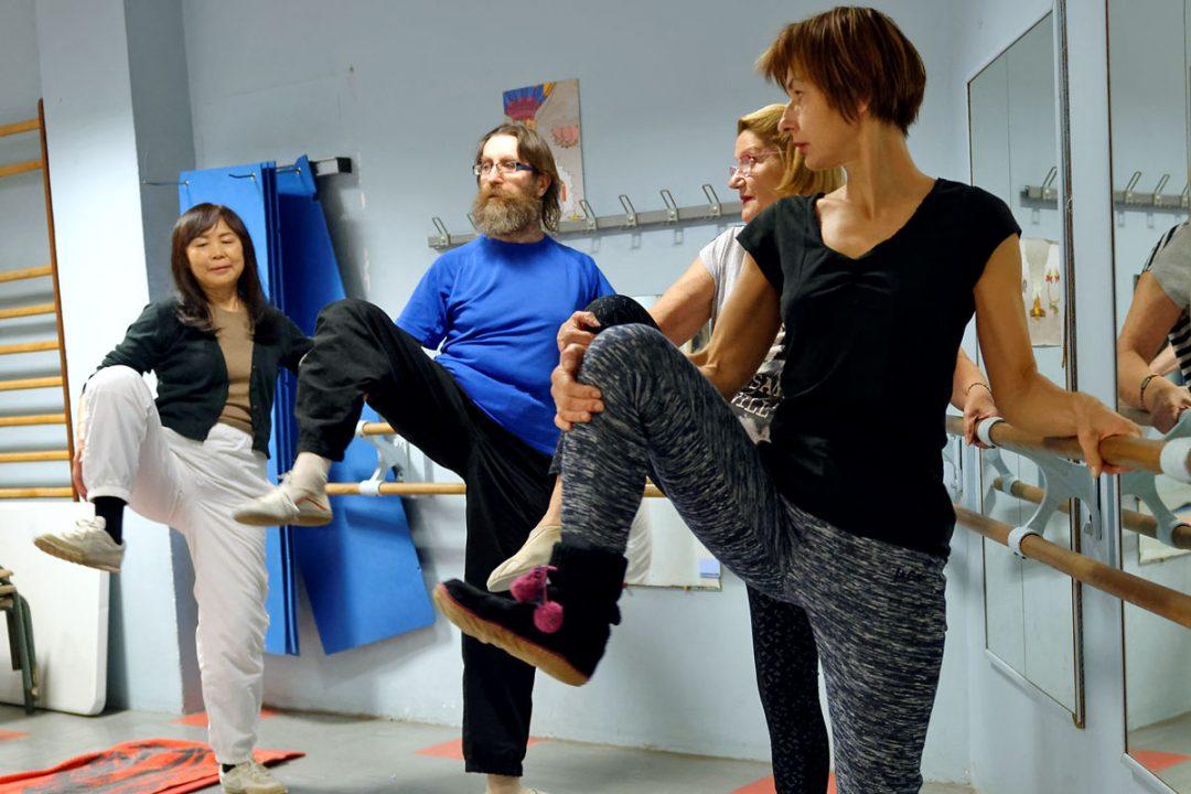 Renforcement musculaire, équilibre et souplesse.