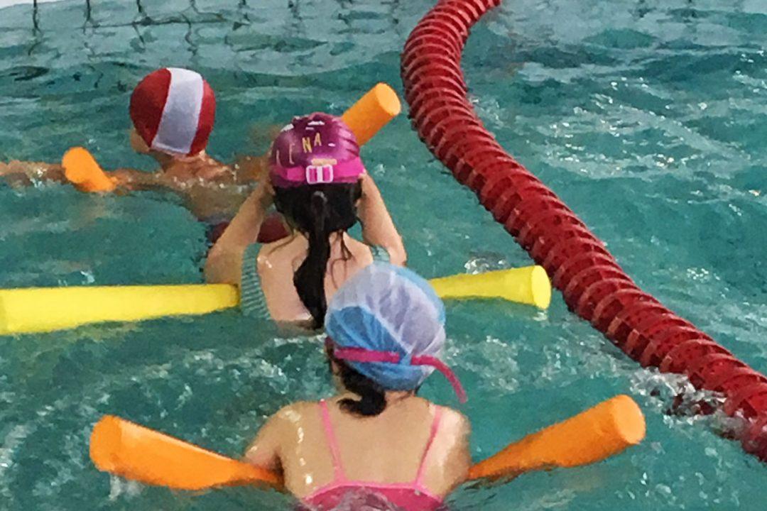 préparation à l'apprentissage de la natation