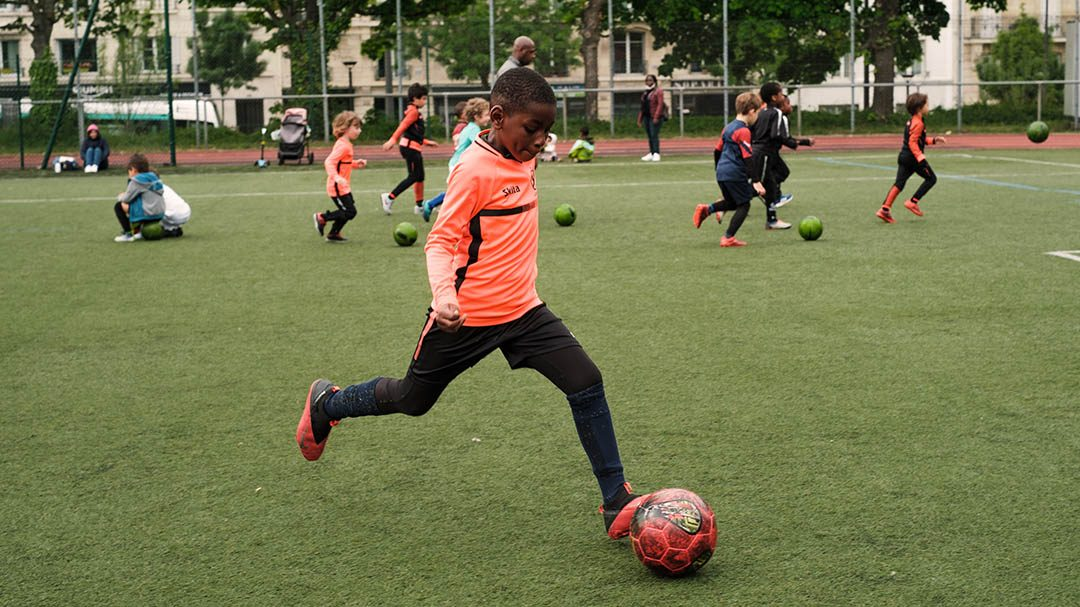 Ecole de Football à Paris 12