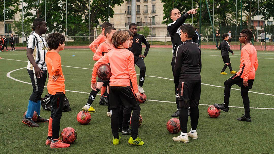 Ecole de Football à La Camillienne