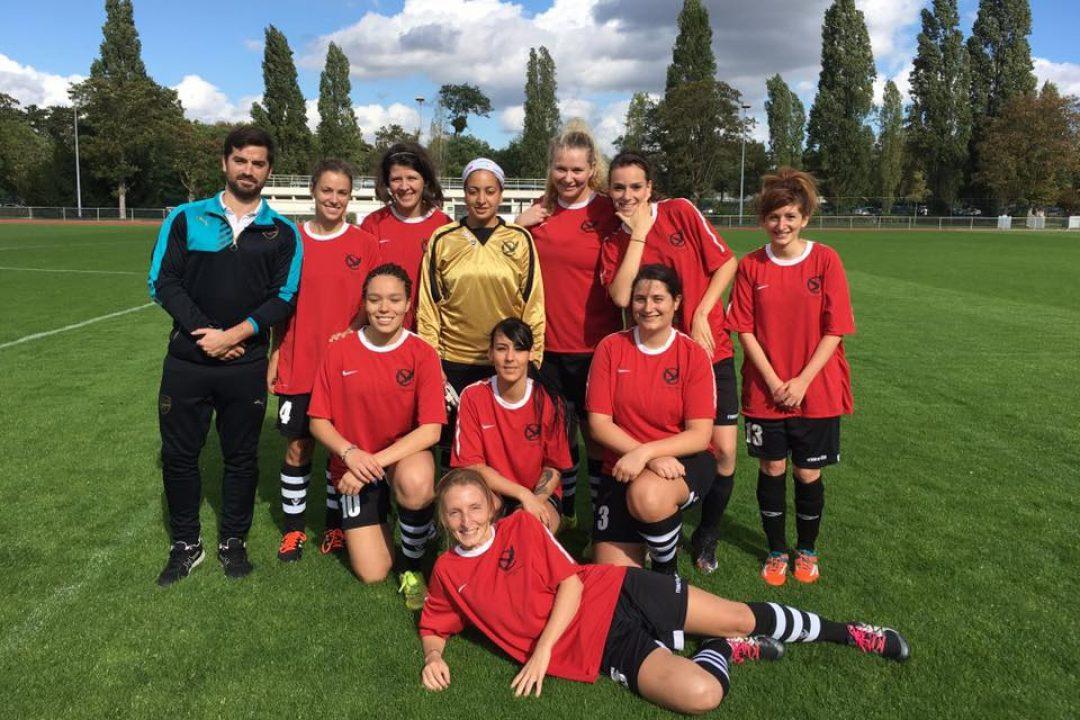 Deux équipes féminines : séniors et U13