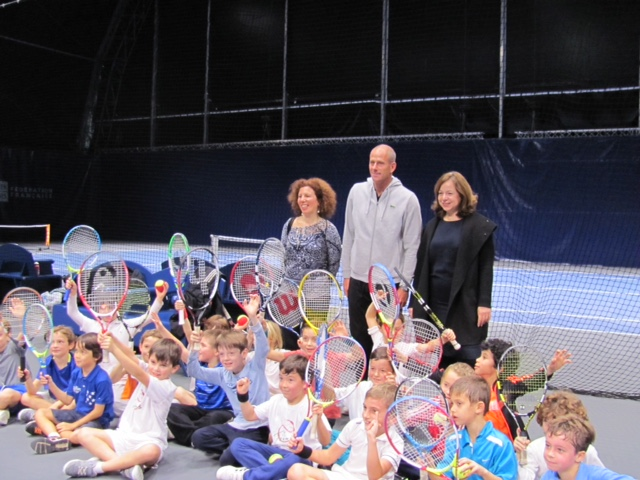 Tournoi de tennis Paris 12