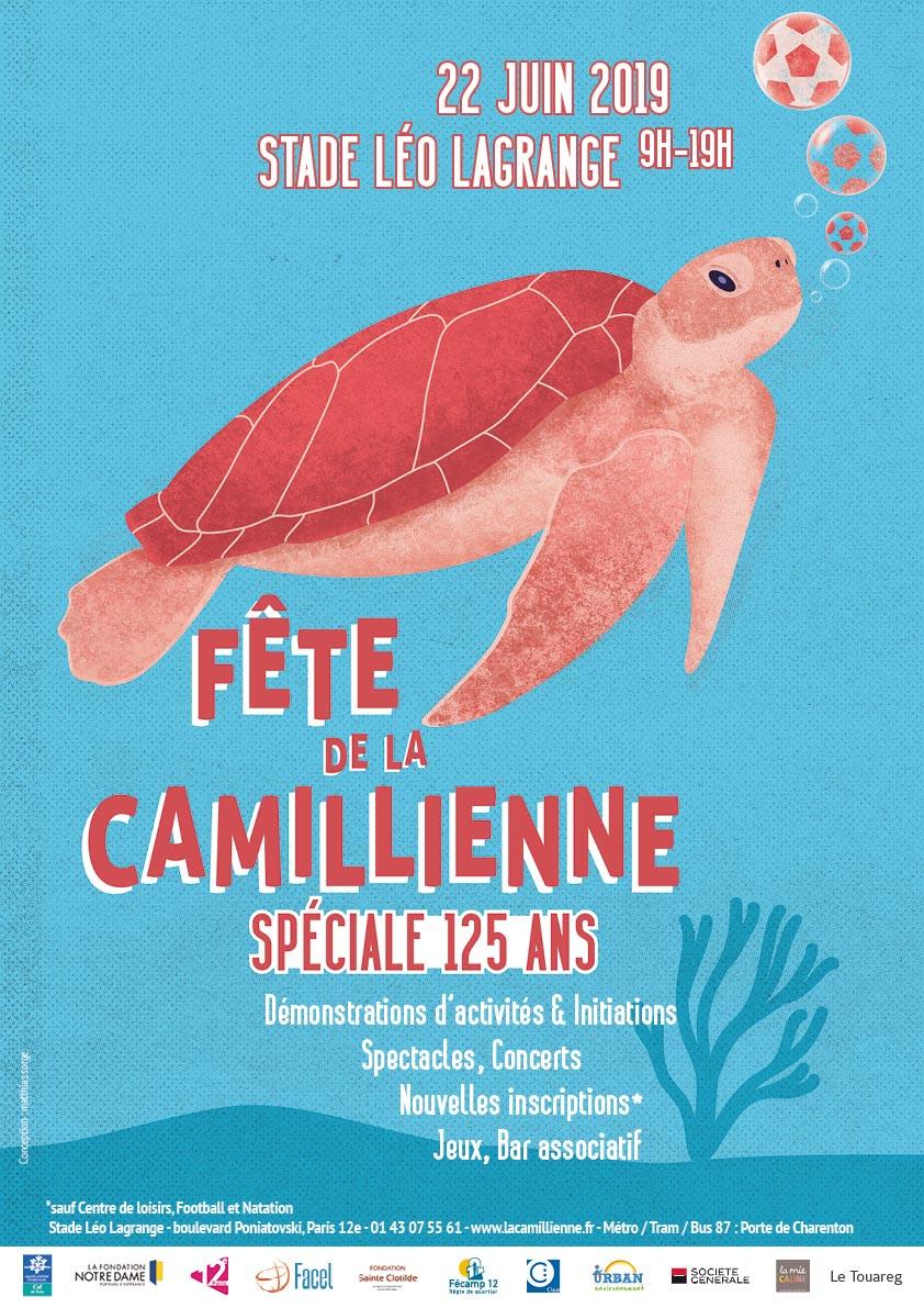affiche fête de La Camillienne