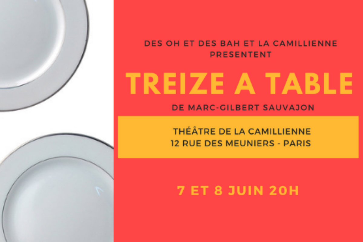Théâtre : treize à table