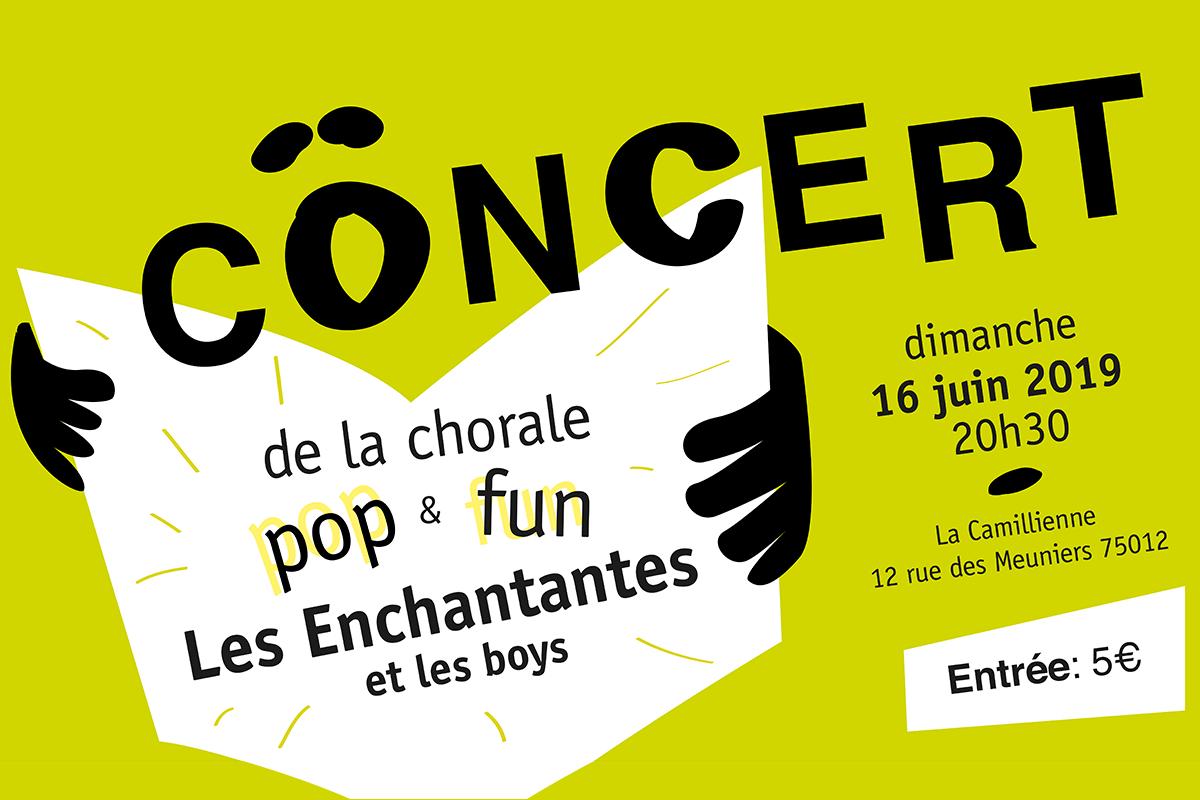 Les Enchantantes Chorale le 16 juin 2019 a 20h30