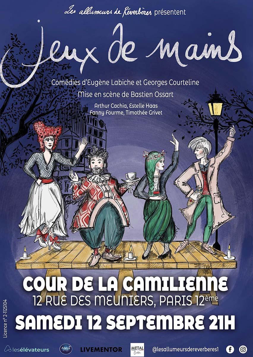 Jeux De Mains, comédie au théâtre de La Camilliennne